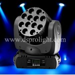 RGBW 4in1 12*10W Cree LED beam moving head light DM-017
