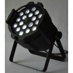 Zoom LED Par 64 dj lights 18pcs 15W RGBWA DP-028