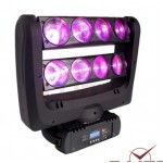 8*10W RGBW/W LED Spider Beam Moving Head Stage Light