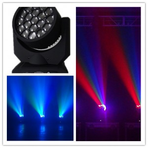 19pcs 12W Amazing Effect DJ Eye LED Moving Heads-Dm-030