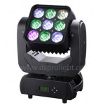 9pcs 12W RGBW matrix mini pixel  LED moving head