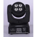 Two sides 8pcs 8W rgbw mini led beam moving head wash Dm-031