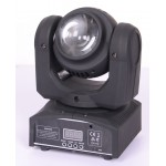 Double face  2pcs 10W  led  mini moving head wash