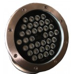 36pcs 1W rgb Dmx LED underwater light  DP-36rgb