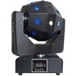 16pcs 3w led 3in1 laser moving head light Dm-033