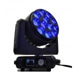 12pcs 40W zoom wash led moving stage lighting